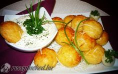 Sajtfánk recept fotóval Hungarian Recipes, Hungarian Food, Pretzel Bites, Fresh Rolls, Cookie Recipes, Recipies, Muffin, Appetizers, Favorite Recipes