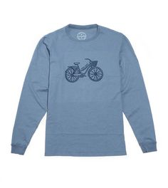 Beach Cruiser - Long Sleeve Lake Cabins, Sweatshirts, My Style, Beach, Long Sleeve, Sleeves, Sweaters, Products, Fashion