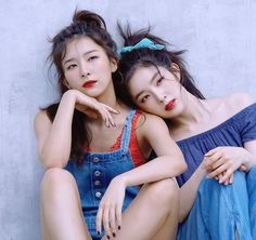 Irene et Seulgi de Red Velvet vont former la première unité du groupe Kpop Girl Groups, Korean Girl Groups, Kpop Girls, Park Sooyoung, Red Velvet Seulgi, Red Velvet Irene, Red Velet, Swagg, South Korean Girls