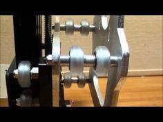 OX CNC Y and Z Gantry w limit switch mount - YouTube