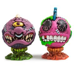 Swine Sucker Mad Balls Kidrobot Vinyl Mini Figure Brand New Madballs