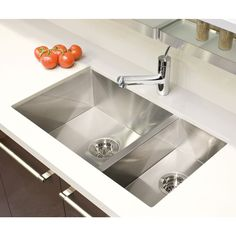 contemporary kitchen with julien s stylish modern kitchen sink rh pinterest com julien kitchen sinks stainless steel Julien Farmhouse Sink