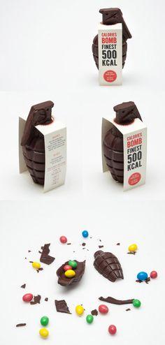 Calories bomb, 500 kcal.