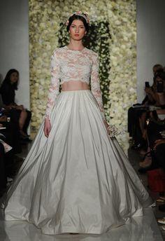 Fashion Friday: Reem Acra Bridal Fall 2015   http://brideandbreakfast.ph/2014/10/17/fashion-friday-reem-acra-bridal-fall-2015/