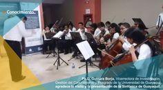 Visita de la Sinfónica de la Universidad de Guayaquil