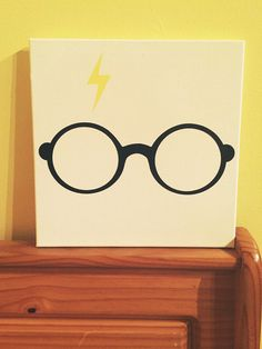 Harry Potter Canvas  by GWCreative on Etsy, $30.00