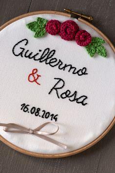 Lanukas: Bastidor porta alianzas para Guillermo y Rosa