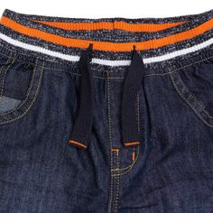 Younger Boys 3-9 years | BLACK Younger Boys Ribbed Waistband Jeans | Dunnes Stores