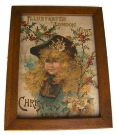 RARE Illustrated London News: Christmas Supplement 1893 Cover op Etsy, € Vintage Shops, Vintage Items, Turquoise Christmas, Welcome Aboard, Floral Arrangements, Imagination, Xmas, Victorian, The Incredibles