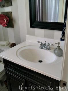 Moving On Up - My Moen Boardwalk Bathroom Faucet Installation & Review
