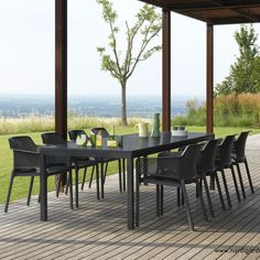 Table de jardin extensible 280 cm Rio NARDI