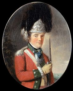 Officer of the Grenadier Company, 63rd Regiment of Foot, 1775 (c)