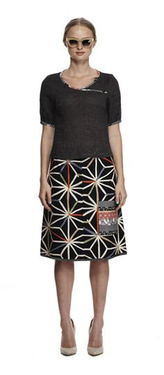 Maiocchi Daydreamy skirt in black and Romantic Notions cami in Black - Spring 2014