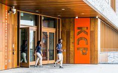 ashton › KIPP DC: Entrance Signage, Exterior Signage, Studios Architecture, Modern Architecture, Environmental Graphic Design, European Football, Modern Buildings, Design Firms, Oak Grove