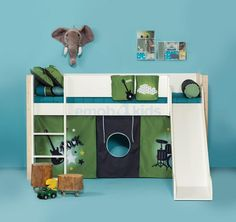 ... images about (Half)hoogslaper on Pinterest  Met, Bureaus and Bunk bed