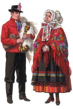Ethnic Outfits, Ethnic Clothes, Folklore, Poland Costume, Folk Costume, Costumes, Polish Folk Art, European Dress, Central Europe