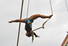 Shoulder split balance | Static trapeze