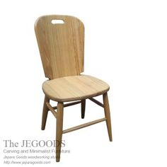 Scandinavian Dansk Wall Chair - We #manufacture & sell #scandinavian #retro chair made of #SolidWood by Indonesia #craftsman. Available at #wholesale price. #Teakchair #retrochair #IndonesiaFurniture