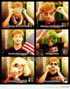 Imagine this as that chapter in the Deathly Hallows: The Seven Potters.