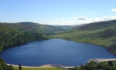 """The """"Guinness Lake"""" in the middle of the Wicklow Mountains - PS I Love You  Braveheart were filmed very near to where we took this one :)"""