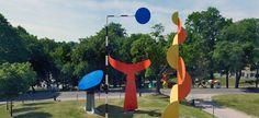 Alexander Calder, The Four Elements, 1961