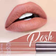 Prueba los tonos #nudes de #Girlactik son adictivos #Posh #Lipstick