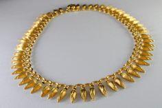 ilias LALAoUNIS Solid 18K Yellow Gold Choker Necklace #iliasLALAoUNIS #lalaounis #necklace #jewelry #jewellery #Choker