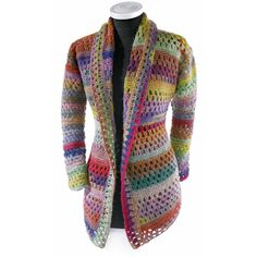 Modell 161/0, Häkeljacke - crochet Jacket - one I would love to make - not that colorful though