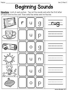 This Phonics Practice Pack is great to support teaching Unit 2 in Fundations for Kindergarten.