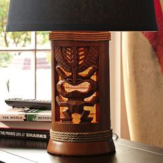 I love the Tiki Lamp Base on pbteen.com