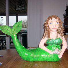 How to Make a Paper Mache Mermaid