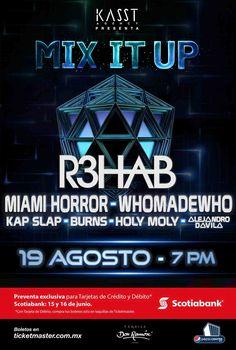 FestivalMix It Up 2016 R3HAB Miami Horror... |