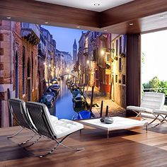 Fotomural 350x245 cm ! Papel tejido-no tejido. Fotomurales - Papel pintado Venecia c-B-0055-a-a Fotomurales! B&D XXL https://www.amazon.es/dp/B016DM876C/ref=cm_sw_r_pi_dp_7mLfxb4NGRK71