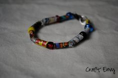 Love superheroes? This DIY bracelet shows you how to pay tribute with a unique design.