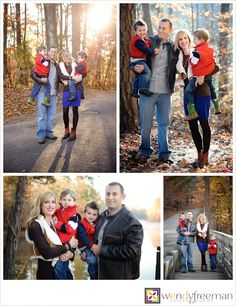 fall Family portraits - what to wear for family portraits