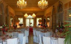Villa Selmi salone piano terra