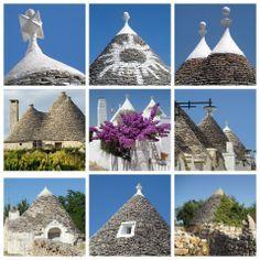 De trulli in Puglia