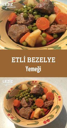 Etli Bezelye Yemeği Pot Roast, Lamb, Salsa, Beef, Ethnic Recipes, Food, Carne Asada, Meat, Roast Beef