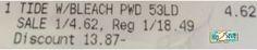*HOT* LARGE 95 oz Tide Detergent Only $2.62 (Reg. $18.49) - Raining Hot Coupons