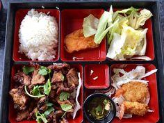 Photo of Tony Thai Restaurant - Houston, TX, United States. tiger cry bento box (lunch special)