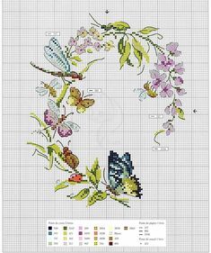 Oiseaux, papillons et petites betes au point de croix 2017 — Яндекс. Oiseaux, papillons et petites betes au point de croix 2017 — Яндекс. Butterfly Cross Stitch, Cross Stitch Bird, Cross Stitch Animals, Cross Stitch Flowers, Cross Stitch Charts, Cross Stitch Designs, Cross Stitching, Cross Stitch Embroidery, Embroidery Patterns