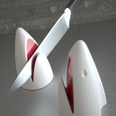 Kookik Kitchen Jaws Knife Sharpener