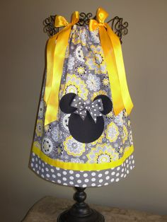 Hey, I found this really awesome Etsy listing at https://www.etsy.com/listing/112998214/minnie-mouse-pillowcase-dress-yellow-and