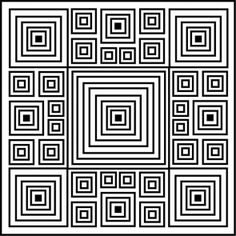 optical illusion coloring page found at http://www.squidoo.com/design-coloring-pages
