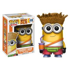 (affiliate link) Despicable Me 3 Tourist Dave Pop! Vinyl Figure