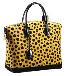 Loving this @Angela Gray Bertasson Vuitton – Yayoi Kusama #polkadot purse for #Fall2012