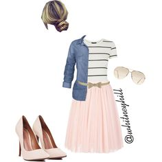 Modestly Chic!! by whitneyhill on Polyvore featuring polyvore, fashion, style, Fat Face, Topshop, Ted Baker, Accessorize and American Eagle Outfitters