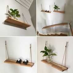 DIY shelf in our stairway