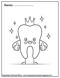 free Dental care cute kawaii coloring pages for kids, Dental care health and bru… – Best Baby And Baby Toys Dental Care For Kids, Free Dental Care, Abc Coloring Pages, Preschool Coloring Pages, Icon Set, Dental Health Month, Do A Dot, Teeth Care, Free Preschool