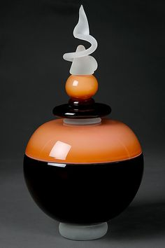 Art Glass Perfume Bottle By Eric Bladholm from artfulhome.com<3<3<3
